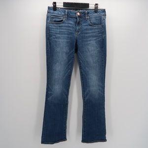 American Eagle Blue Denim Straight Boot Jeans